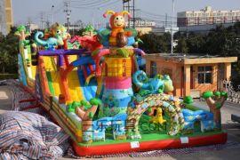 大型充气玩具城堡蹦蹦床多少钱
