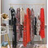 折扣女裝世紀藍天  桑蠶絲連衣裙夏季貨品渠道