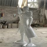 江門玻璃鋼遊戲人像雕塑 遊戲主角雕塑 影視道具擺件
