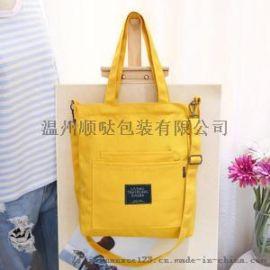 厂家直销环保韩版棉布袋学生手提全棉购物袋定做