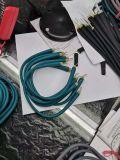 记忆钢丝蓝牙耳機线挂脖耳機线材半成品硅胶耳機线