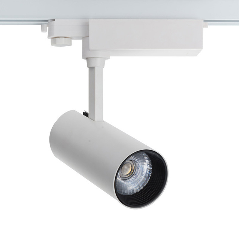 LED轨道灯 客厅背景墙射灯 过道导轨灯