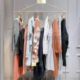 杭州一二线品牌折扣女装伊纳芙简约复古春装库存货源