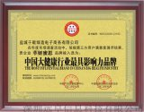 中国大健康行业  影响力品牌
