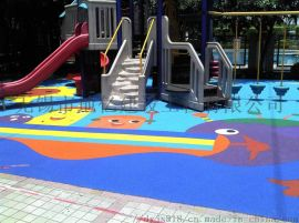 环保材料EPDM塑胶跑道幼儿园运动跑道标准地面