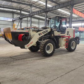 装载机 混凝土搅拌装载机斗液压 小铲车带搅拌斗