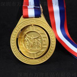 深圳廠家獎牌定制 學校運動會獎章馬拉鬆跑步比賽獎章