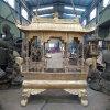 昌东工艺香炉生产厂家,长方形铸铜香炉供应厂家