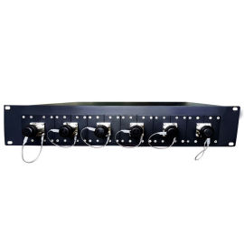 复合光缆一体化接口板SMPTE304-6x公插座