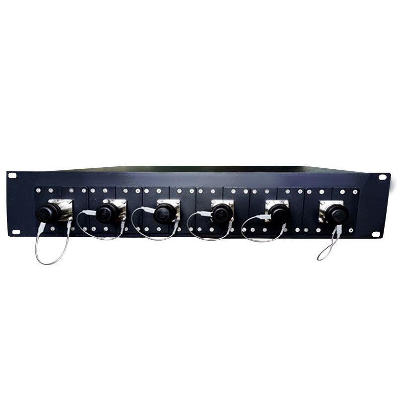 複合光纜一體化介面板SMPTE304-6x公插座