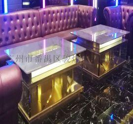 KTV茶幾臺鋼化玻璃桌定制量販簡約夜場配套產品