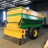石灰撒佈機 大容量灰粉料布灰機 修路施工白灰撒佈機
