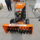 沃特毛刷式小型迷你掃雪機 雪地清雪機 全自動剷雪機