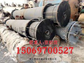 购销二手列管式冷凝器+不锈钢高压换热器+石墨冷凝器