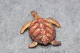 厂家定制搪胶环保迷你小乌龟儿童洗澡戏水玩具模型摆件