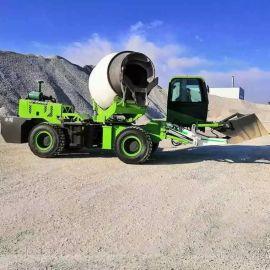 厂销混凝土搅拌车 自上料搅拌车 流动式搅拌水泥车