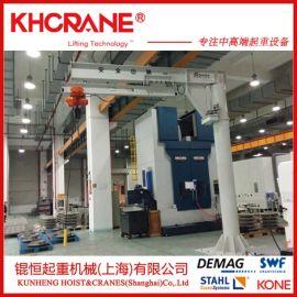 上海锟恒定制BZD-1T移动悬臂吊 小型吊机 天车