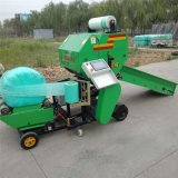 玉米秸稈青貯打包機,秸稈青儲打捆機