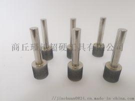 商丘瑾川供应高品级电镀CBN圆柱磨头支持定制