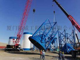 供应可出口1000吨散装水泥罐、拼装水泥仓、粉料仓
