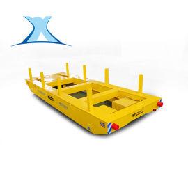 轨道搬运车铸造厂区承重轨道转运车货物电动平板车钢卷电动平车
