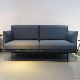 意式双人位沙发现代简约休闲定制