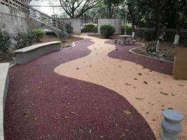西安彩色透水混凝土材料,生态透水混凝土增强凝结剂