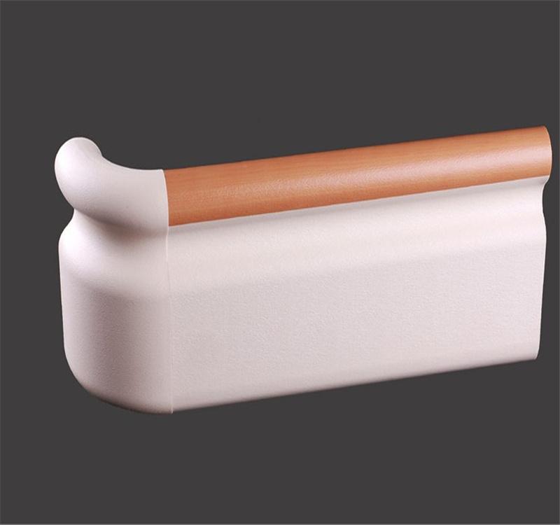 159款PVC医用防撞扶手走廊通道靠墙防撞扶手厂家