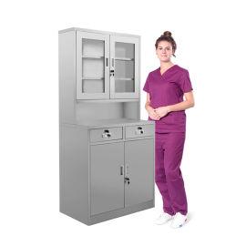 SKH054 不锈钢器械柜 文件柜 药品柜