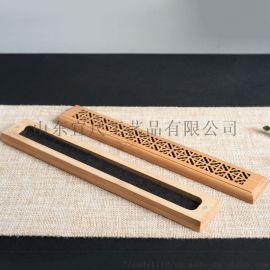 工厂直销木制竹木线香创意家用熏香盒