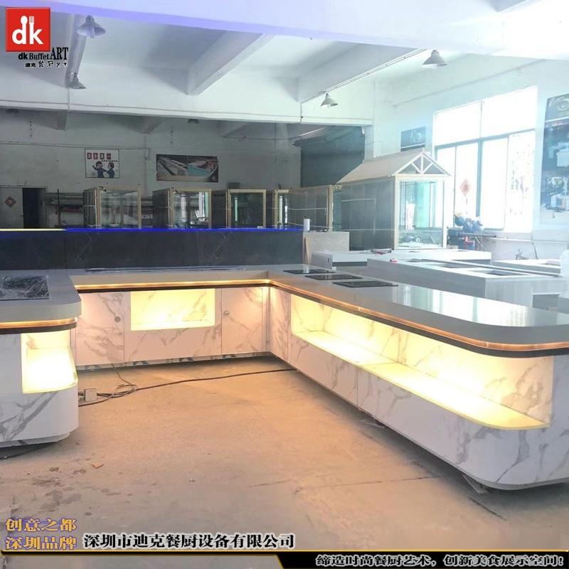 dk自助餐台厂家 自助餐台设计效果图 单位自助餐厅