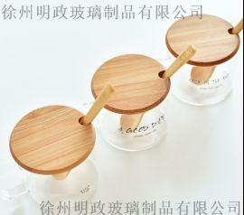 木头盖水杯防尘木盖杯盖咖啡杯玻璃杯盖子竹木盖