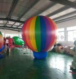 双层落地球PVC升空气球模型充气广告气模定制