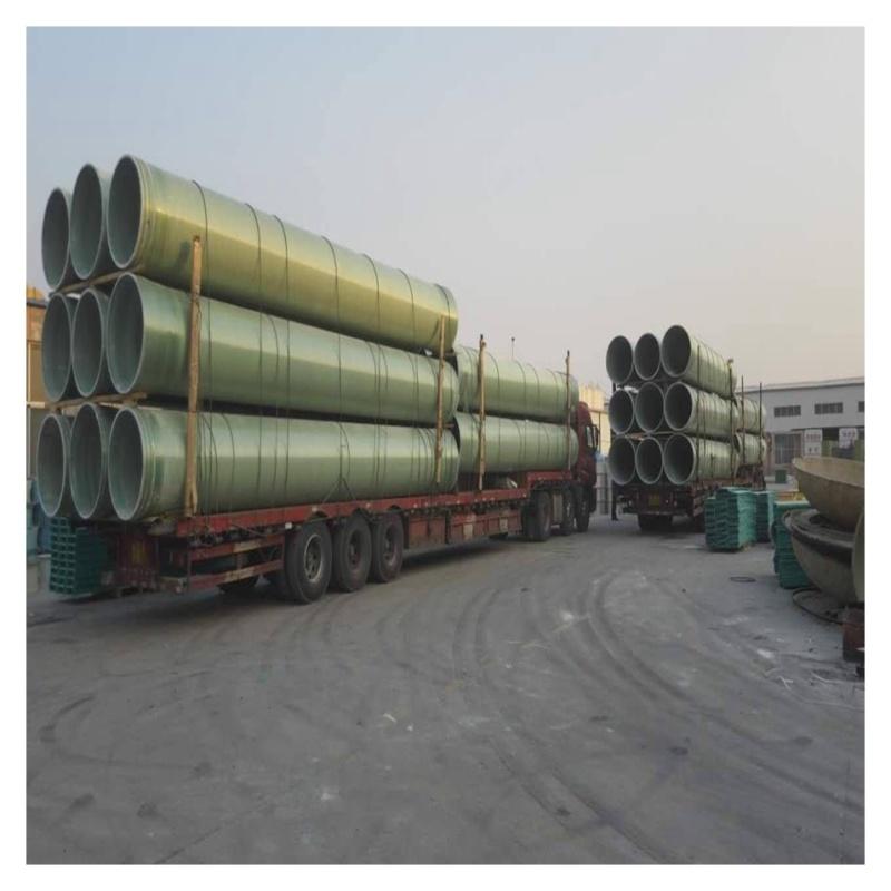 太倉玻璃鋼風管 無機輸水工藝管道