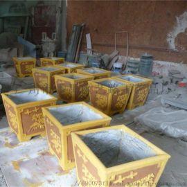 花盆雕塑雕塑厂家玻璃钢.仿砂岩花盆雕塑