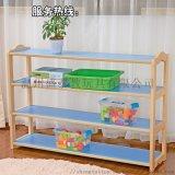 幼儿园实木玩具柜,彩色教具柜,儿童木质区角柜