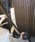 洛阳中实出品矿用提升机单绳提升机导绳板钢丝绳导绳板
