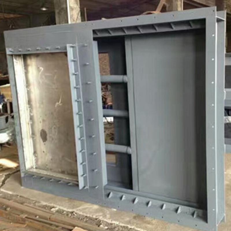 智慧調節電動擋板式隔離門