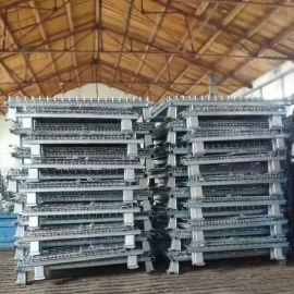 折疊倉儲籠 A7鐵籠 圍欄託盤 鍍鋅鐵筐