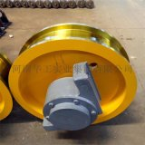 φ500x150双缘从动轨道车轮组 整体淬火调质轮