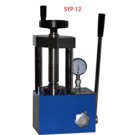 SYP-12B手动粉末压片机 实验室台式成型机