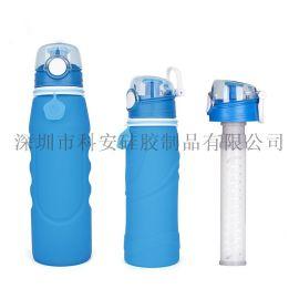 创意户外运动活性炭水壶纤维管过滤水杯