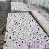 承德本格直销火山石板材 黑洞石板 装饰用火山石板