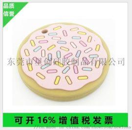 食品级卡通硅胶牙胶 滴胶多色牙胶硅胶磨牙器