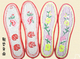 夜市庙会棉布工艺成品绣花鞋垫哪里便宜