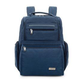 蓝色背包牛津布背包定制可定制logo上海方振