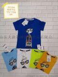 江楓品牌尾貨提供雙菲樂童裝短袖衫