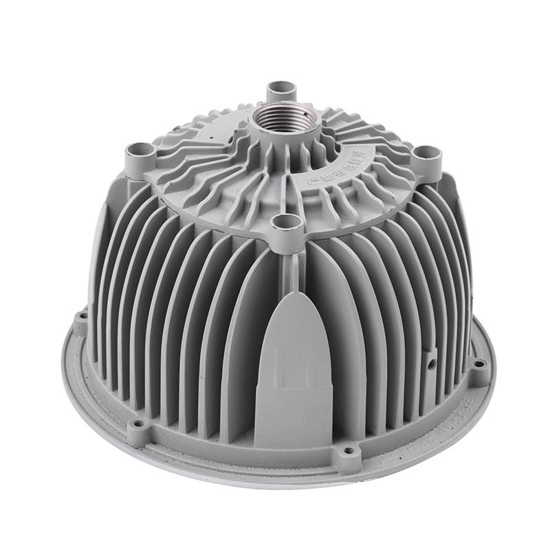 廠家直銷鋁合金壓鑄件,高精密防爆燈外殼散熱器
