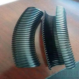 保护线缆单开口黑色阻燃波纹管AD31.4电气绝缘