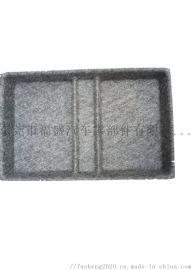 毛毡桌面杂物收纳盒 毛毡收纳箱 冲型毛毡盒